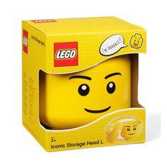 9d4376a7fb Lego storage Kmart - LEGO Iconic Storage Head Large...  Legostorage  Kmart