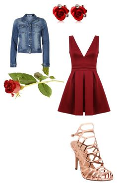 """The runaway Belle"" by victoria-murray-1 ❤ liked on Polyvore featuring ONLY and Madden Girl"