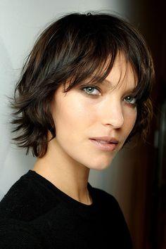 cabello corto con fleco - Buscar con Google