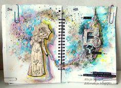 DEKORakcje: Explore - art journal