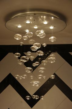 Beautiful Bubble Chandelier  Wouldn't this be perfect over my bath tub?