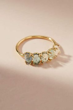 Ombre Birthstone Ring #anthropologie #ad