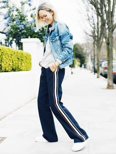 Casual combinations from fashion bloggers like Pernille Teisbaek, Camille Charrière and many more.