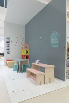 Small Design - Danish furniture for kids Find it at Normann Copenhagen and check their own site here