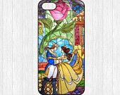 Beauty and the Beast iPhone 5 Case,Flowers Rose iPhone 5 5s 5c Hard Plastic Rubber Case,cover skin case for iphone 4 4s 5 5s 5c cases,More