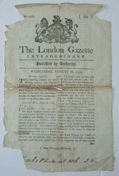 London-Gazette-Extraordinary-August-28th-1793-Siege-of-Dunkirk