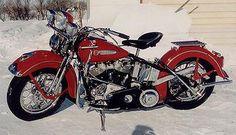 1948 Harley-Davidson Panhead Left Side