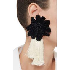 M'O Exclusive Mystic Mistress Earrings by Johanna Ortiz Tassel Jewelry, Ear Jewelry, Fabric Jewelry, Jewelery, Jewelry Accessories, Diy Earrings, Fashion Earrings, Statement Earrings, Earrings Handmade