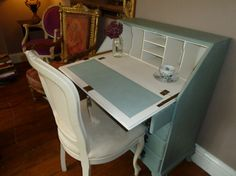 Gorgeous Vintage Bureau / Writing Desk by JadesHeavenlyHomes, £195.00