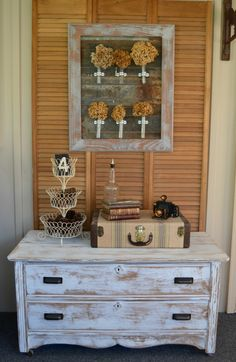 Rustic Farmhouse Chest Makeover