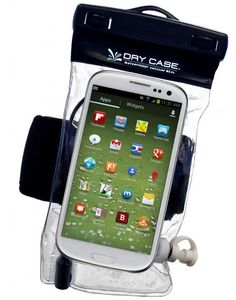 DryCase waterproof bag for mobile devices, quick and easy way to keep phone protected
