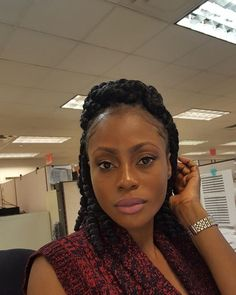 Crochet Braids East London : ... ?Crisscrossing?? on Pinterest Box braids, Faux locs and Braids