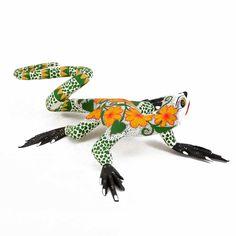 Bertha Cruz: Lizard with Flowers