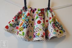 Circle Skirt for Toddlers - Sewing Tutorial