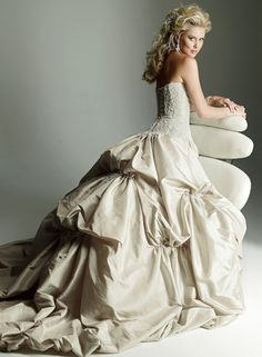 Back of Victoriana by Maggie Sottero