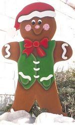 Christmas Gingerbread boy