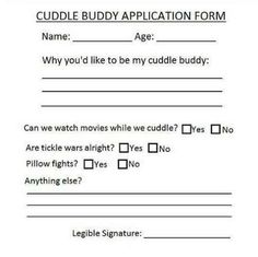 Official cuddle buddy application. I Love Smiles
