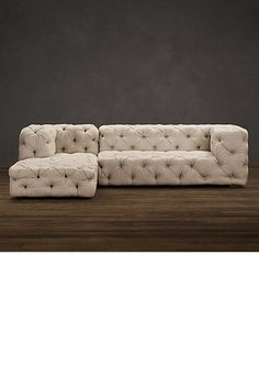Luxury sectional sofa chaise