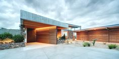 Okura House boasts contemporary architectural design