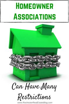 Homeowner Associations Can Have Many Restrictions - http://www.rochesterrealestateblog.com/homeowner-associations-hoas-good-or-bad/ via @KyleHiscockRE #realestate #Homeownerassociations #HOA