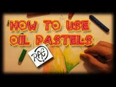 ▶ HOW TO USE OIL PASTELS shading techniques LIVE Drawing by RAEART - YouTube