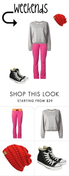 """Weekend Outfit"" by abbybeaumont ❤ liked on Polyvore featuring Only Play, Acne Studios and Converse"
