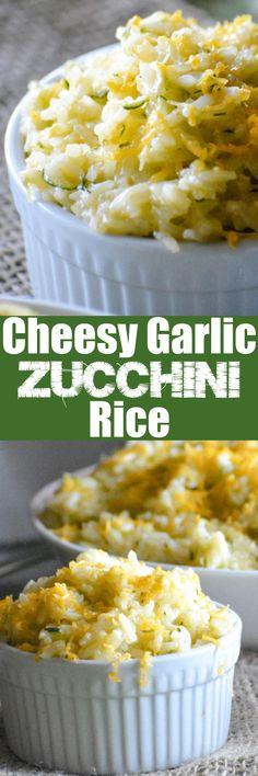 Burnt out on boring side dishes? Pair this Cheesy Zucchini Rice with your favorite main meat, and dig right on in. There will be zero regrets, and you'll feel good about getting your family excited about eating at least one vegetable at dinner time.