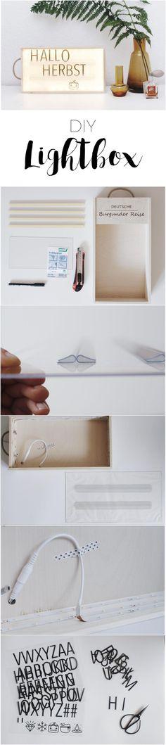 Lightbox  / Lichtbox selber machen / DIY / selbstgemacht / austauschbare Buchstaben / Buchstaben zum Wechseln / Kinderzimmer Dekoration / paulsvera