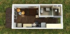 Lujo los 20ft Container House, los 40ft Converted Container Home (CH-14)