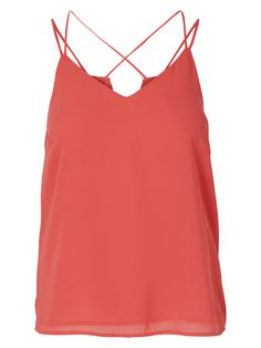 Dusty rose coloured top from VERO MODA. The perfect summer top!
