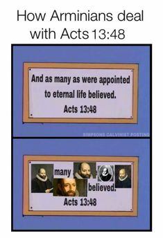 Acts 13:8 | Arminians