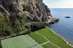 World's best tennis court? Maybe.