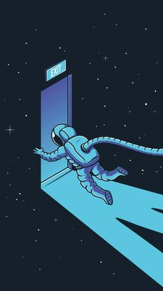 Escape from reality iPhone Wallpaper Space Artwork, Wallpaper Space, New Wallpaper, Galaxy Wallpaper, Cartoon Wallpaper, Wallpaper Bonitos, Astronaut Wallpaper, Space Illustration, Supreme Wallpaper