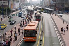 Innovative mass transit- Bus Rapid Transit (BRT) in Guangzhou, China