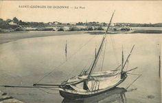 Cotre à tapecul du pilotage de la Gironde  à St-Georges de Didonne