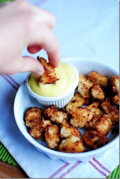 Chick-fil-A Bites with Honey Mustard Dipping Sauce #recipe