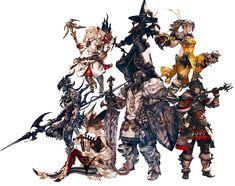 Job Armor from Final Fantasy XIV: A Realm Reborn