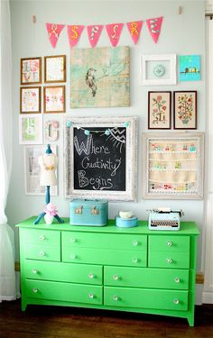 Painting with Annie Sloan Chalk Paint via Nesting in the Bluegrass