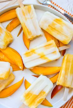 mango lassi popsicles more mango lassi mango popsicle frozen treats ...