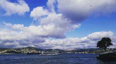 """On instagram by cybeleaei #landscape #contratahotel (o) http://ift.tt/2d44wJQ""""Bu dünya soğuk  Rüzgar genelde ters yöne eser  Limon ağaçları kurur  Bahaneler hep hazır  Güzel günler çabuk geçer  İçimiz hep bir hoşçakal ülkesi"""" #cahitzarifoglu  #şiir #poem #poet #poetry #literature  #sea #sky #light #walking #through  #windy #cloudy #cold #spring #may #sunday #afternoon #neighbourhood #yeniköy  #bosphorus #istanbul"""
