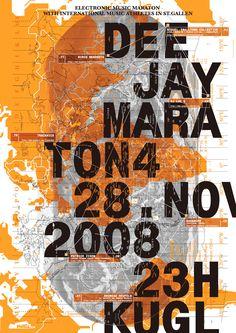 Poster, Typo, Matthias Gubler, Typosalon