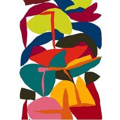 Tendance déco arty, soyez créatif ! Textile Patterns, Textile Prints, Textile Design, Print Patterns, Floral Patterns, Lino Prints, Block Prints, Illustration Arte, Illustrations
