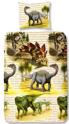 Kids-Style Dekbedovertrek 3878 Dino's