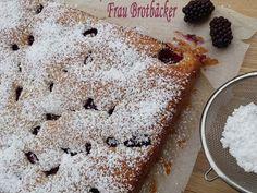 Frau Brotbäcker: Brombeerkuchen