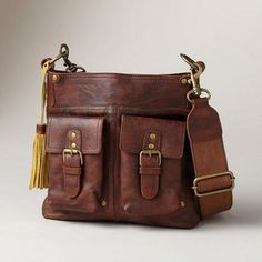 LEATHER WORLD EXPLORER BAG