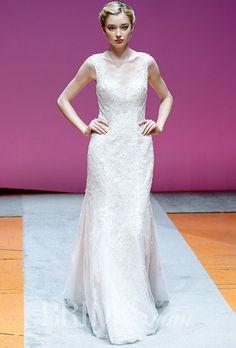 Brides: Alfred Angelo Wedding Dresses - Fall 2016 - Bridal Runway Shows - Brides.com