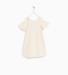ZARA - KIDS - OFF-THE-SHOULDER DRESS
