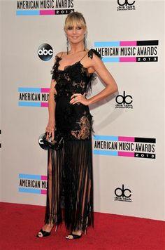 Heidi Klum @ the 2013 American Music Awards | Gallery | Wonderwall