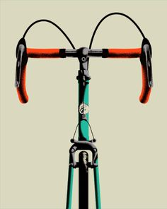 Bike Art Print By Allan Peters 20 B I K E S Pinterest