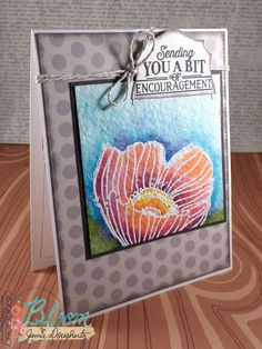 Inky Fairy Designs Encouragement Greeting Card